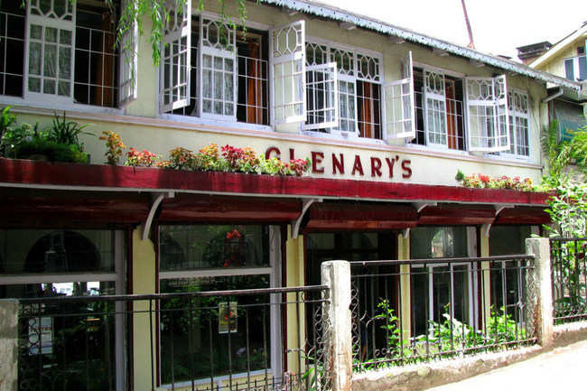 Laze around in Glenary's