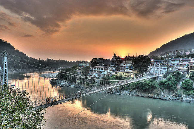 Ram Jhula and Lakshman Jhula, Rishikesh