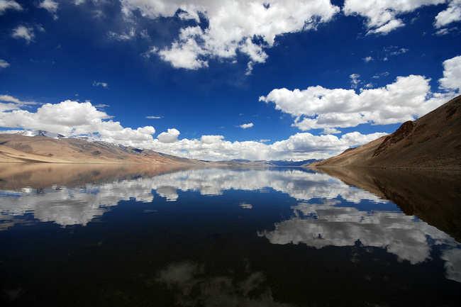Tso Moriri in Ladakh