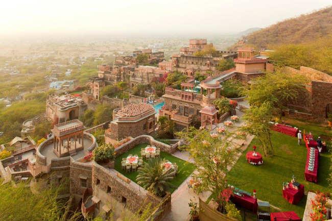 Neemrana Fort Palace, Delhi-Jaipur Highway