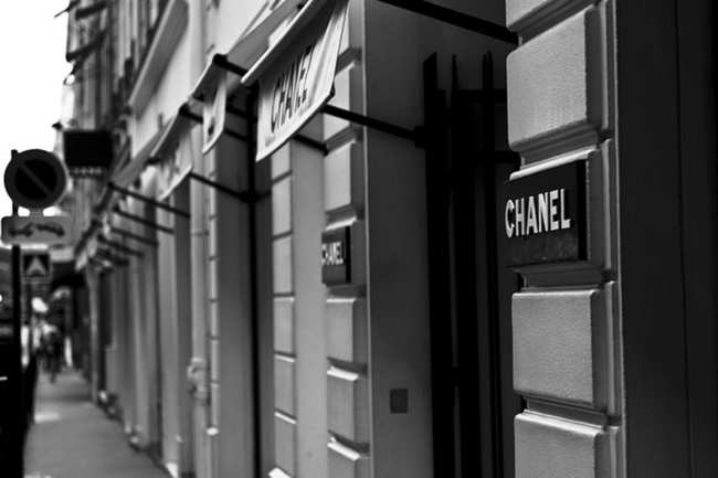 Chanel on rua Cambon