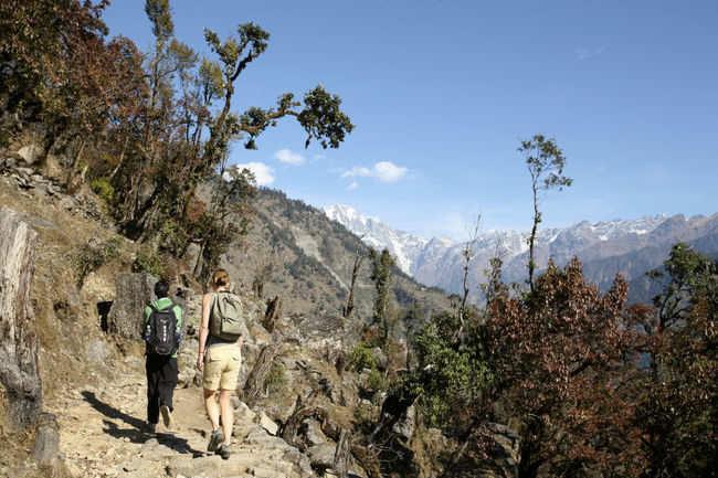 Hiking to Leti Village