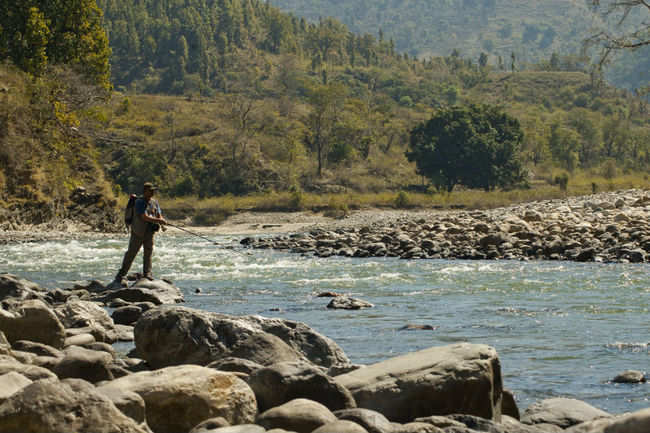 Fishing in Ramnagar
