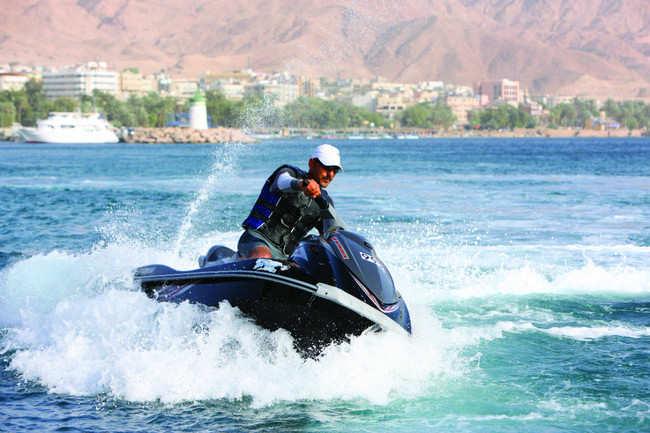 Water sports in Aqaba