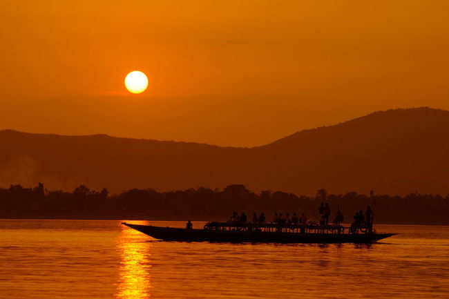 Go for a ferry ride on Brahmaputra