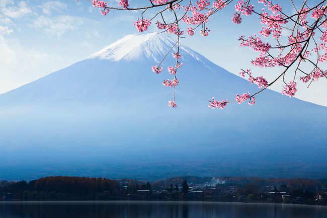 Mount Fuji from Lake Kawaguchi