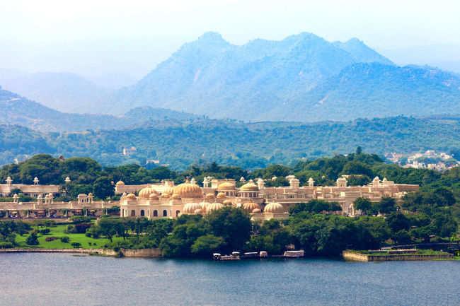 Boating at Udaipur's lake