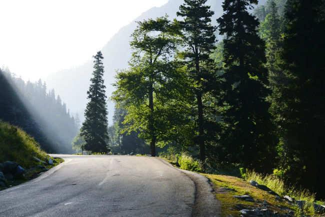 Hit the scenic highways