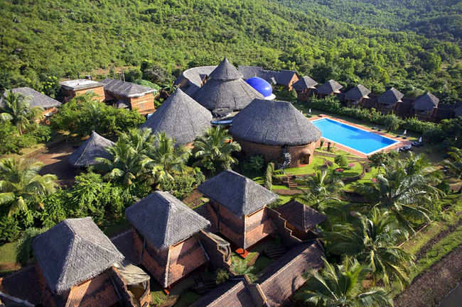 Romantic retreat in a resort