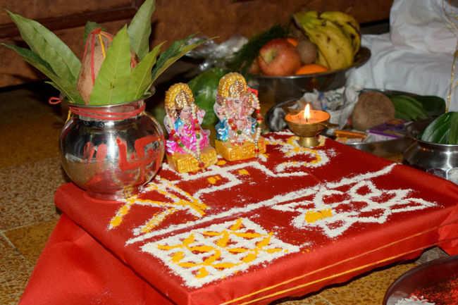 Laxmi Ganesha Puja on Diwali