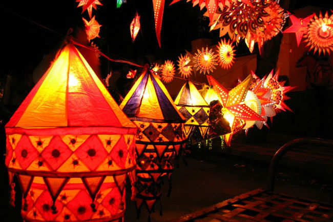 ​ Lamps and lights decoration for Diwali