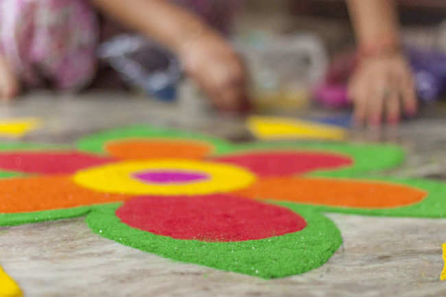 ​ Diwali rangolis to start the festivities