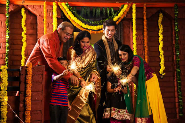 ​ Diwali, family reunions and happiness