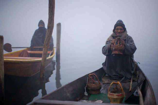 The 'Kanger' experience in Kashmir winter