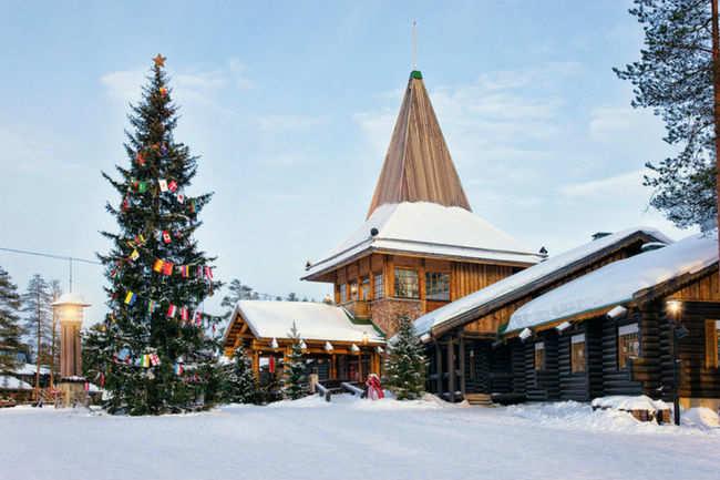 Lapland, Santa Claus's village