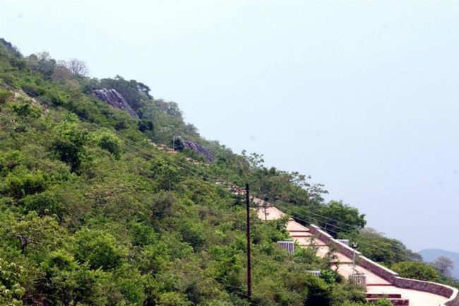 Vishwa Shanti Stupa in Rajgir