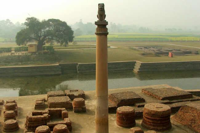 Ashokan Pillar at Vaishali