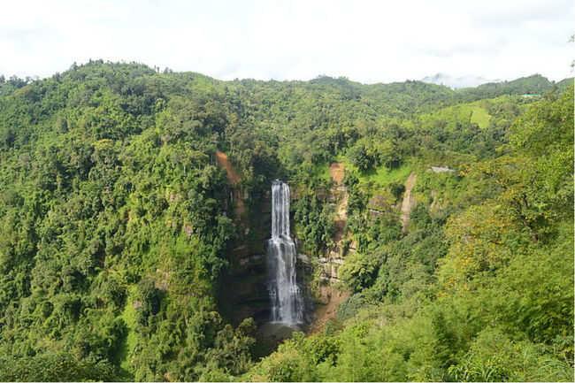 Vantawang Falls, Mizoram