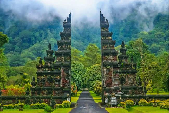 Handara Gate, Indonesia