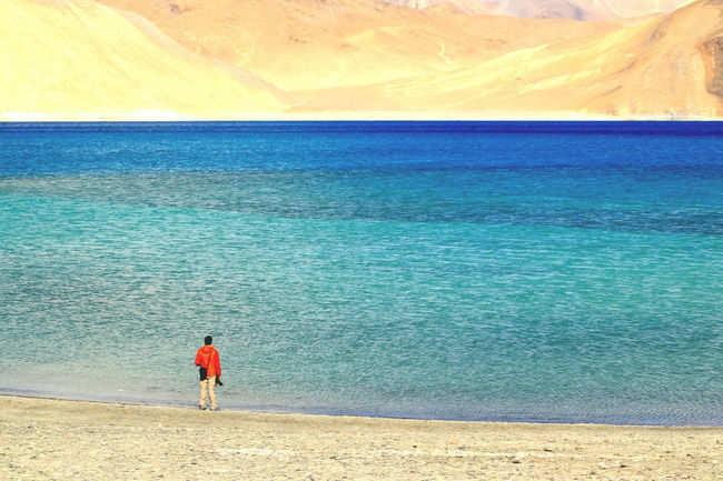 Pangong Lake, India