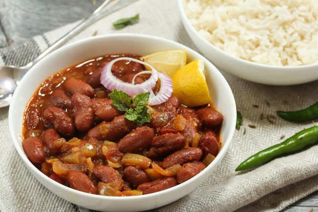 The best rajma-rice ever