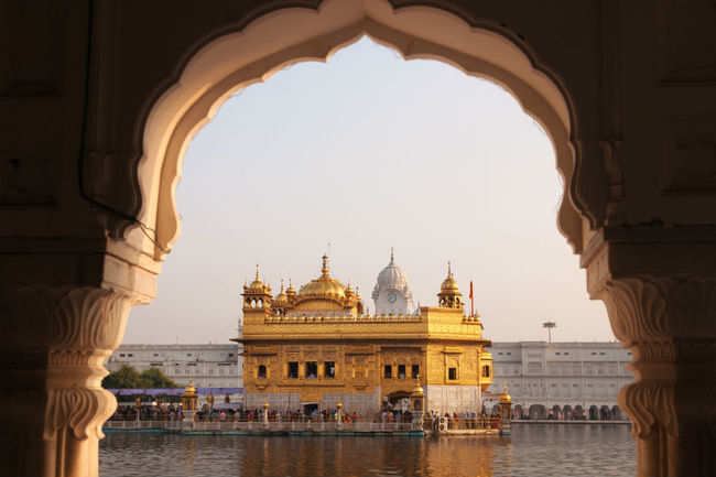 The shining Golden Temple
