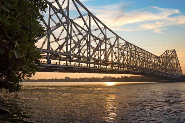 That's the Hooghly bridge