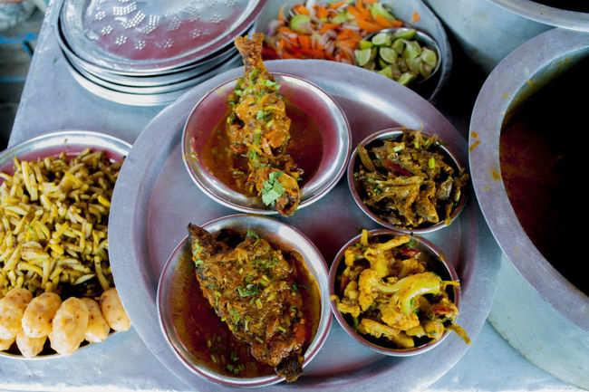 In Kolkata for food