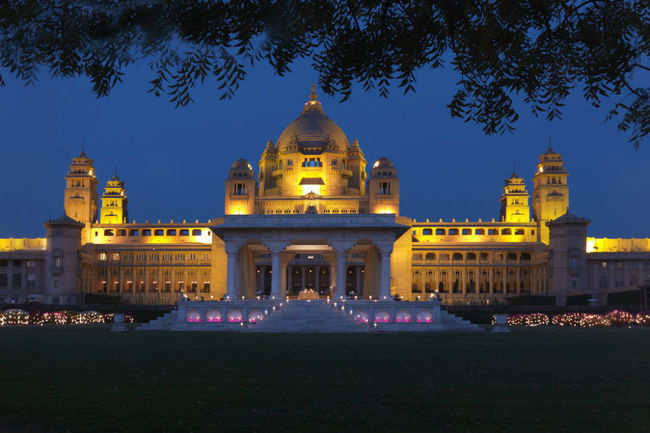 Last royal palace/resident before India got independence