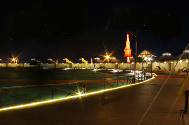Rann at night