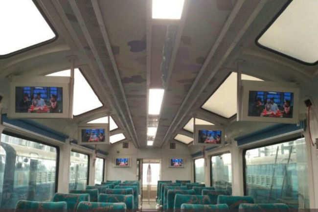 Kalka Shimla glass roof coach!