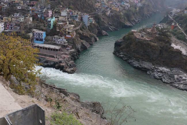 In the lap of Ganga