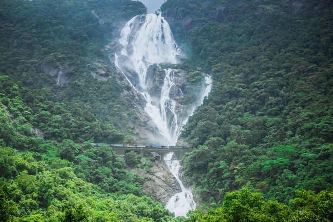 Dudh Sagar Water Falls Railway Station, Goa