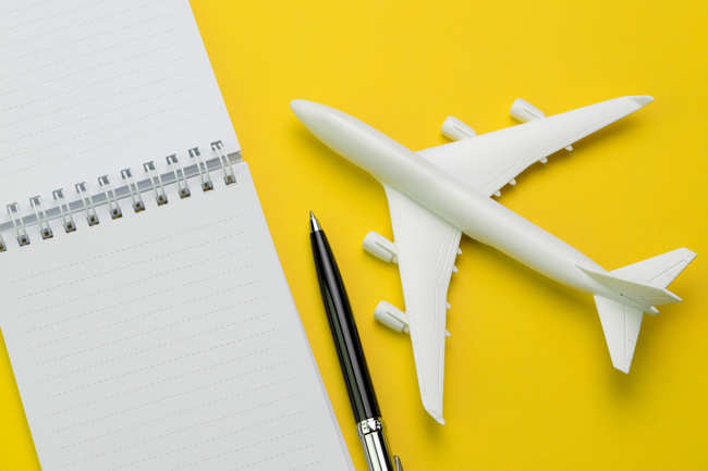 Jot down your travel plan