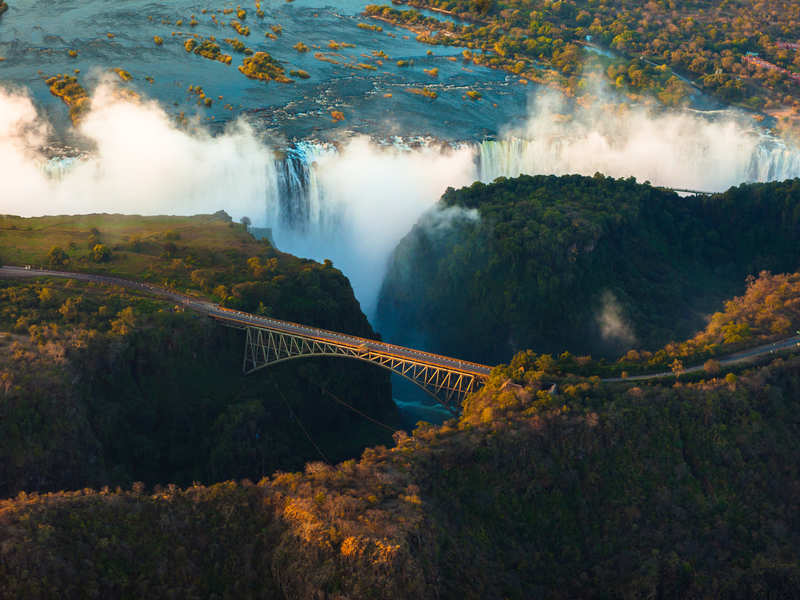 Victoria Falls closed for public for an indefinite period