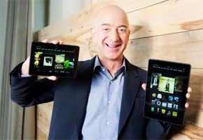 Amazon unveils Kindle Fire HDX with live help